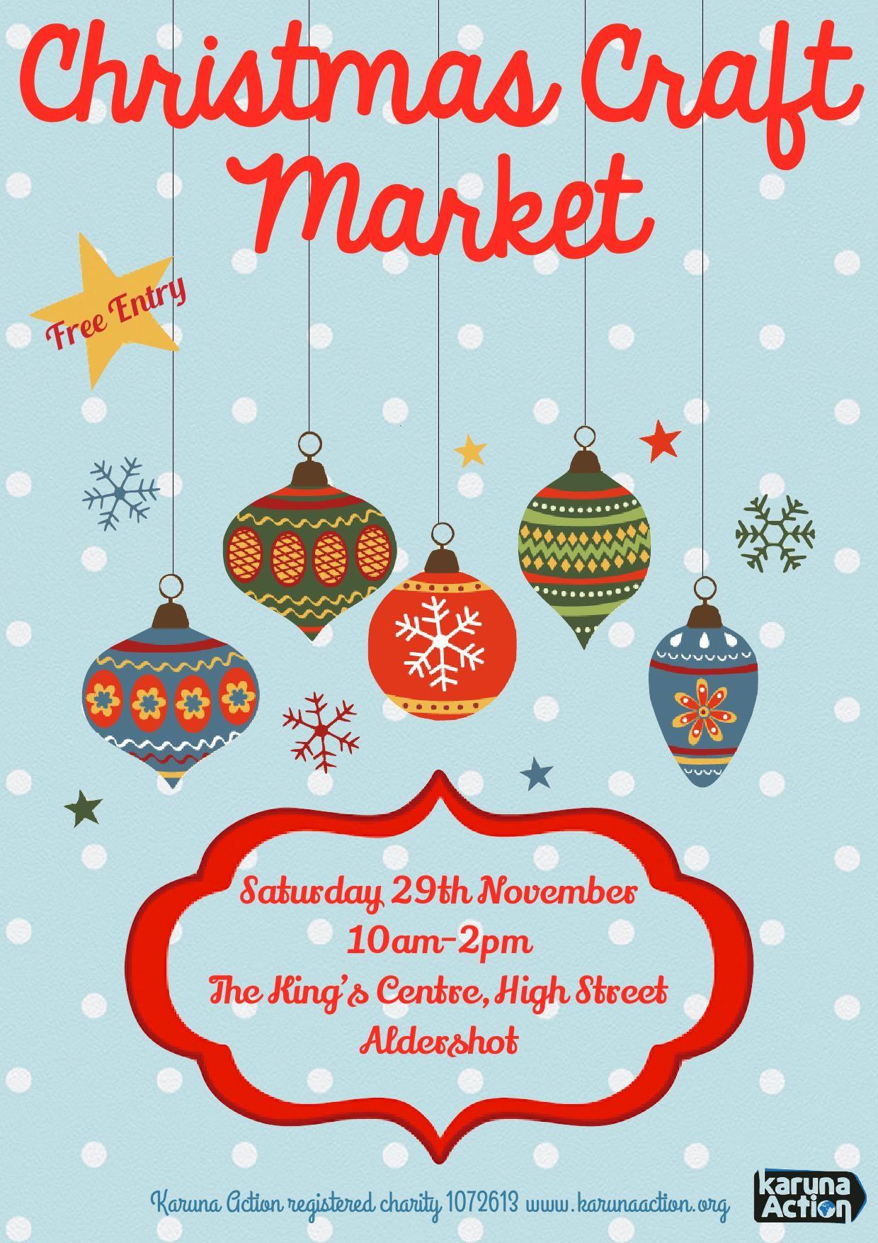 christmas craft market essex